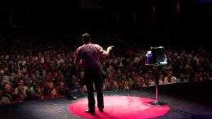 Un participant à un TED