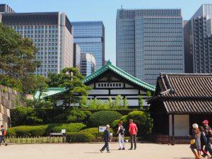 jardin impérial de Tokyo