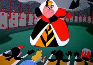 La méchante de l'histoire : la reine de coeur dans Alice