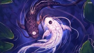 Yin and yang, version carpe