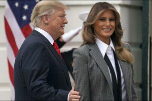 Melania Trump en costume