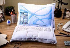 Coussin ordinateur