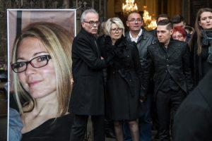 Les funérailles d'Alexia Daval