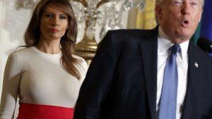 Melania Trump réapparaît publiquement