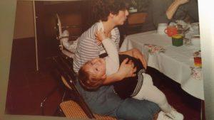 Bébé agité des années 80