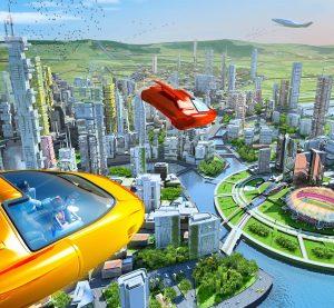 Utopie : les voitures volantes