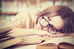 Dormir sur son livre
