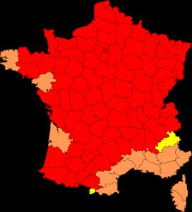 La France en rouge