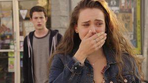 Hannah pleure dans 13 reasons why