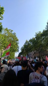 Manifestation du 05 mai 2018, la fête à Macron