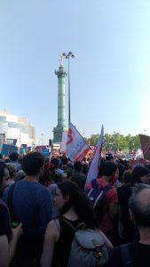 Manifestation du 5 mai 2018, la fête à Macron