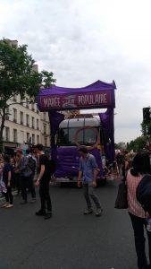 Camion marée populaire