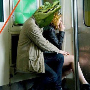 Les frotteurs dans le métro