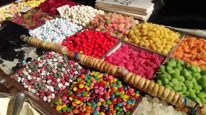 Manger des bonbons