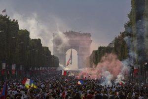 Finale de la Coupe du Monde 2018 à Paris, la France championne