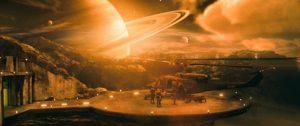 Une colonie proche de Saturne