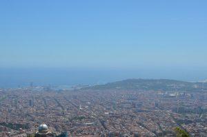 Barcelone vue de Tibidabo