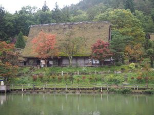Hida, village folklorique, Japon