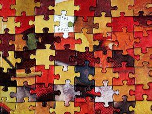 Puzzle sans motif