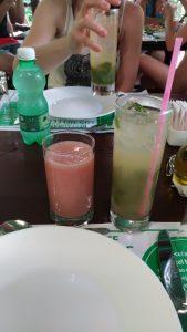 Cocktail cubain et jus de goyave