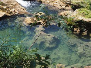 Cuba, El Nicho, baignade