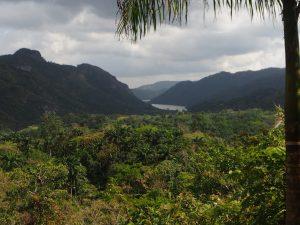 Panorama du haut d'El Nicho