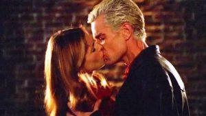 Le premier baiser de Buffy et Spike