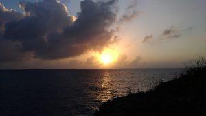 Coucher de soleil Cuba