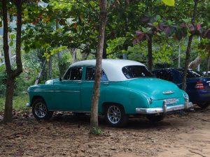 Cuba vieille voiture