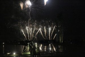 Feu d'artifice au château de Versailles