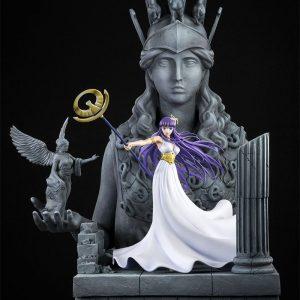 Athena, statue chevaliers du zodiaque