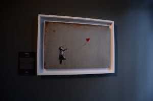 Banksy, exposition à Amsterdam