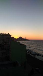 Front de mer de la Havane au couchant