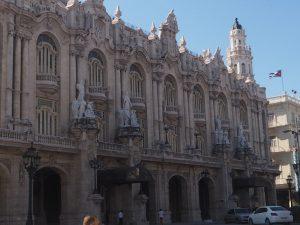 Le théâtre national de la Havane, Cuba