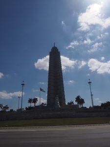 Place de la Révolution à la Havane, Cuba. Monument de la révolution