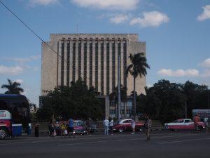 Place de la Révolution à la Havane, Cuba.