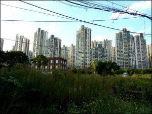 Ville abandonnée en Chine