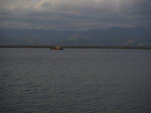 Epave de bateau à Cuba
