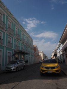 Une belle façade à Cienfuegos