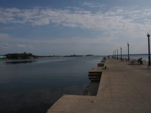 Front de mer à Cienfuegos à Cuba