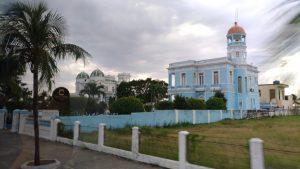 Le quartier des villas privées à Cienfuegos