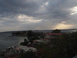 Cienfuegos, vue au couchant, Cuba