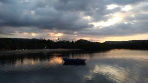 Lever de soleil à Guajimico, Cuba