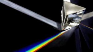 Le prisme qui filtre la lumière