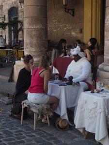 La voyance dans la rue à la Havane