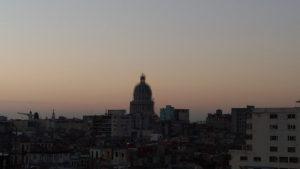 Lever de soleil sur le Capitole de la Havane