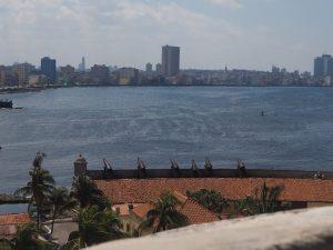 Panorama sur la Havane du haut du fort, Cuba