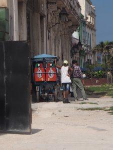 Un pousse-pousse à la mode cubaine