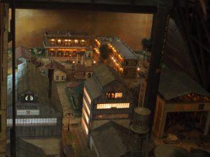 Diorama à la distillerie Havana Club à la Havane, Cuba
