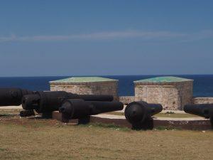 Canons du fort de la Havane, Cuba